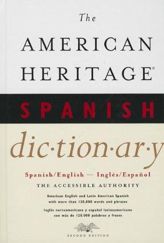9780544103689: The American Heritage Spanish Dictionary: Spanish/English, Ingles/Espanol