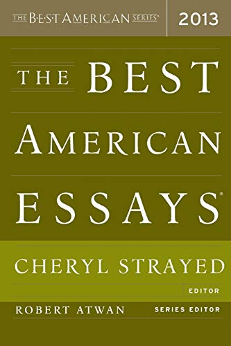 9780544103887: The Best American Essays 2013 (The Best American Series ®)