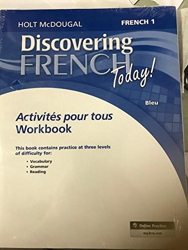 9780544107137: Discovering French Today: Activités pour tous with Review Bookmarks Level 1 (French Edition)