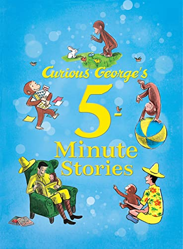 9780544107939: Curious George's 5-Minute Stories