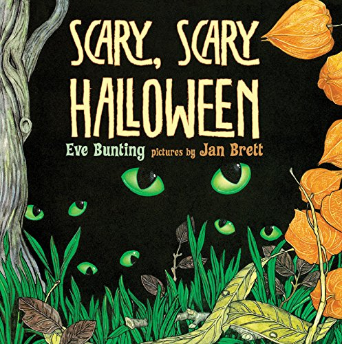 scary scary halloween book cd bunting