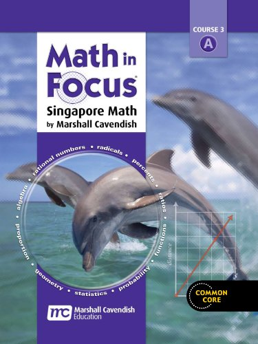 9780544129382: Math in Focus: Singapore Math: Homeschool Package 1st Semester Grade 8