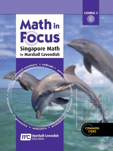 9780544129399: Math in Focus: Singapore Math: Homeschool Package 2nd Semester Grade 8
