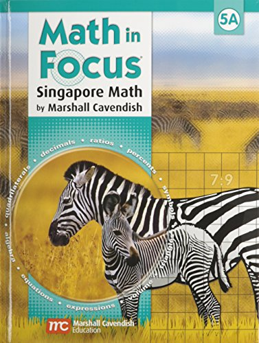 9780544129771: Math in Focus: Singapore Math: Homeschool Package with Answer Key Grade 5