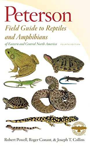 9780544129979: Peterson Field Guide to Reptiles and Amphibians of Eastern and Central North America, Fourth Edition (Peterson Field Guides)