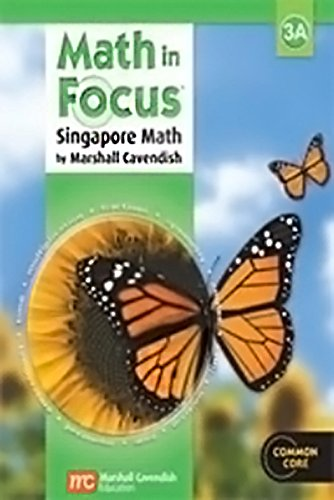 9780544130265: Math in Focus: Singapore Math: Homeschool Package with Answer Key Grade 3