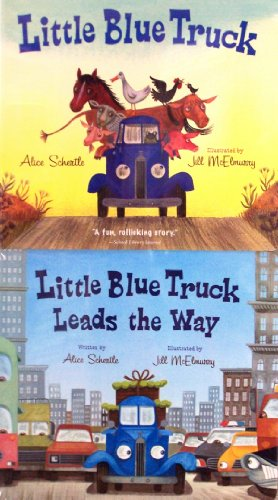 9780544139732: Little Blue Truck - 2 Pack (Little Blue Truck / Little Blue Truck Leads the Way)