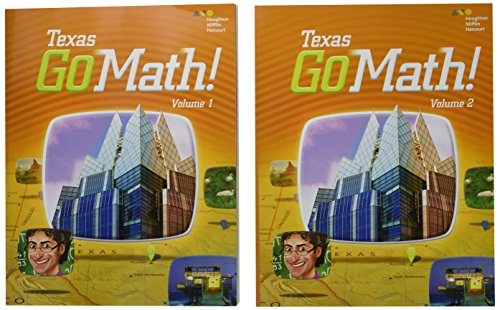 9780544140929: Go Math! Texas: Student Edition Bundle Grade 5 2015
