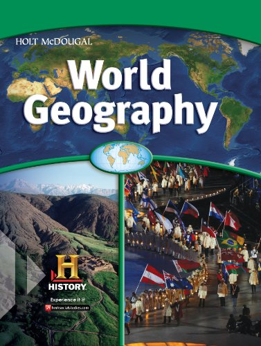 9780544145924: World Geography: Homeschool Package 2013