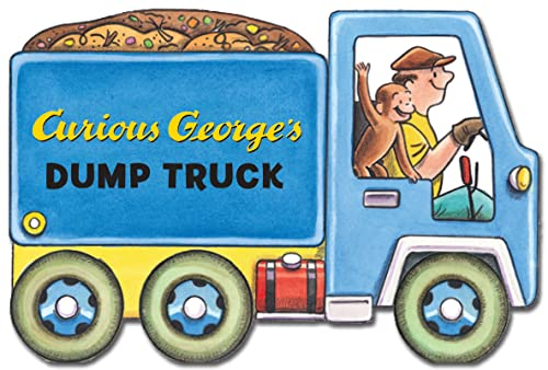 Curious George s Dump Truck: (Mini Movers Shaped Board Books)