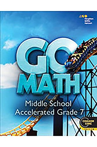 9780544147164: Go Math!: Student Interactive Worktext Accelerated 7 2014