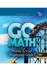 9780544147409: Go Math!: Teacher Edition Accelerated 7 2014
