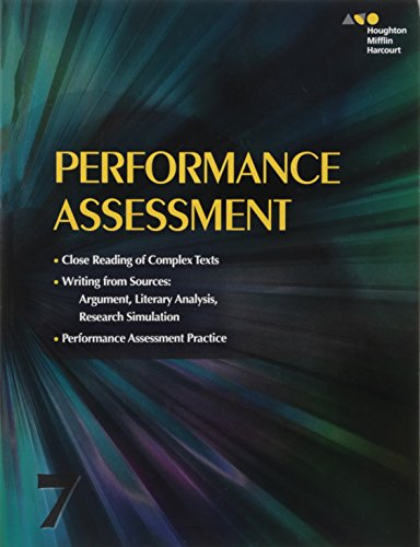 9780544147560: Collections: Performance Assessment Student Edition Grade 7