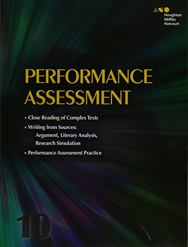 9780544147607: Collections: Performance Assessment Student Edition Grade 10