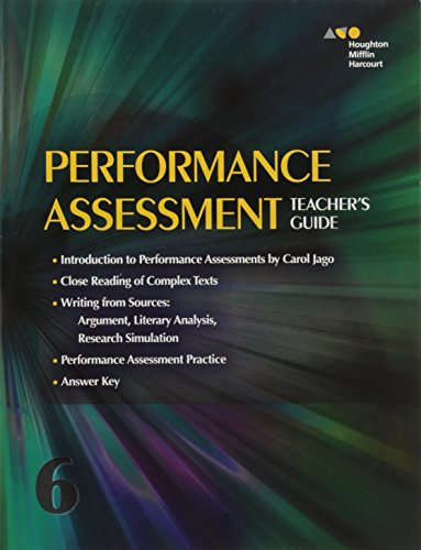 9780544147867: Collections: Performance Assessment Teacher's Guide Grade 6
