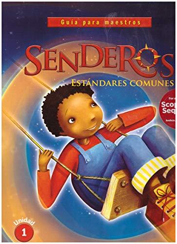 9780544155190: Senderos Estándares Comunes: Teacher's Edition, Volume 1 Grade 2 2014 (Spanish Edition)