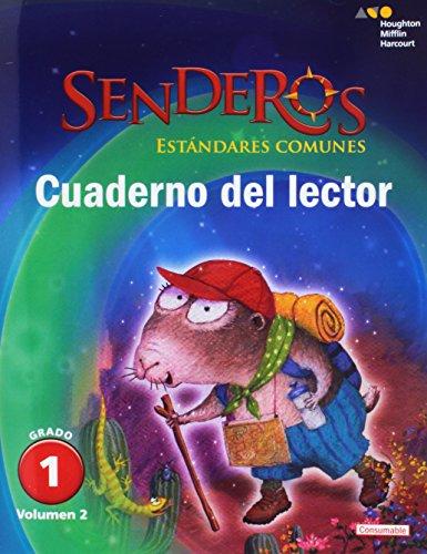 9780544156531: Houghton Mifflin Harcourt Senderos: Common Core Readers Notebook Consumable Volume 2 Grade 1 (Spanish Edition)