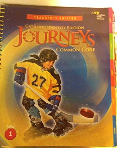 9780544160255: Houghton Mifflin Harcourt Journeys: Catholic Diocese Teacher's Edition Volume 1 Grade 5 2014
