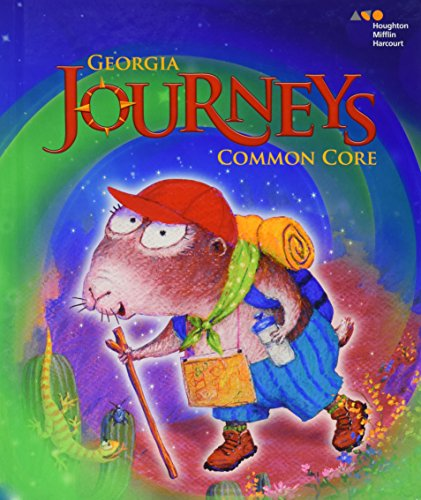 Houghton Mifflin Harcourt Journeys Georgia: Common Core: HARCOURT, HOUGHTON MIFFLIN