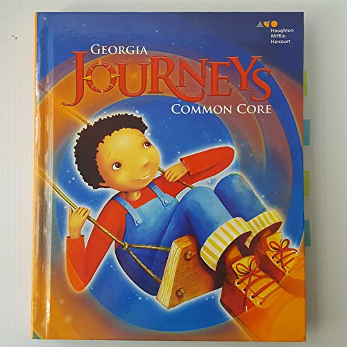 9780544164871: Houghton Mifflin Harcourt Journeys Georgia: Common Core Student Edition Volume 1 Grade 2 2014