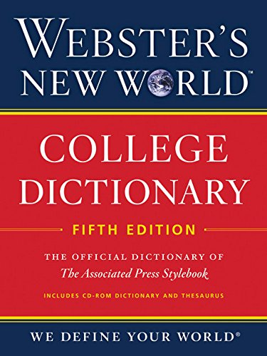9780544165533: Webster's New World College Dictionary, Fifth Edition (with CD-ROM)