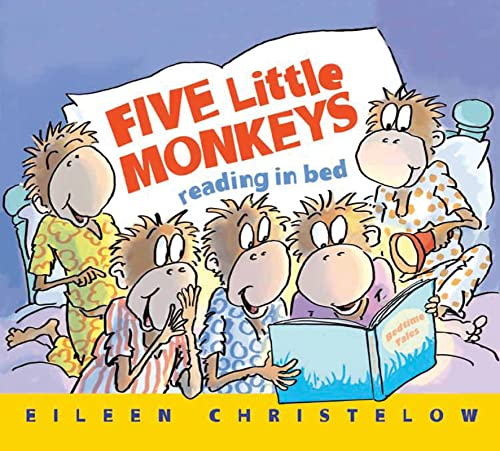 9780544173309: Five Little Monkeys Reading in Bed (A Five Little Monkeys Story)