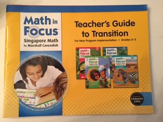 9780544192652: Math in Focus: Singapore Math: Teacher's Guide to Transition Grades 2-5