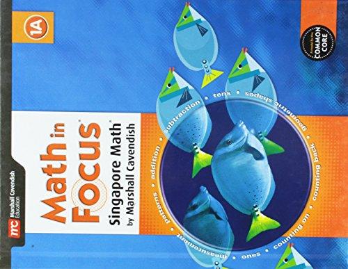 9780544193550: Math in Focus: Singapore Math: Student Edition, Book A Grade 1 2015