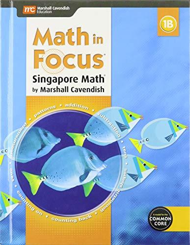 9780544193567: Math in Focus , Book B Grade 1 (Hmh Math in Focus)
