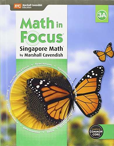 9780544193598: Math in Focus: Singapore Math: Student Edition, Book A Grade 3 2015