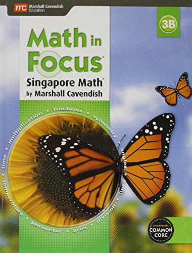 9780544193604: Math in Focus: Singapore Math: Student Edition, Book B Grade 3 2015