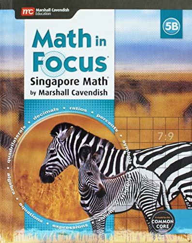 9780544193642: Math in Focus: Singapore Math: Student Edition, Book B Grade 5 2015