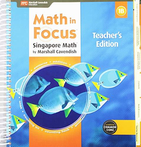 9780544193666: Math in Focus: Singapore Math: Teacher Edition, Book B Grade 1 2015