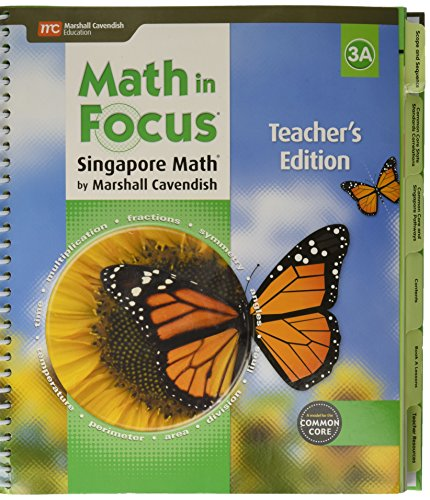 9780544193697: Math in Focus: Singapore Math: Teacher Edition, Book A Grade 3 2015