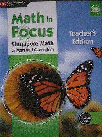9780544193703: Math in Focus: Singapore Math: Teacher Edition, Book B Grade 3 2015