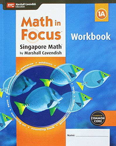 9780544193802: Math in Focus: Singapore Math: Student Workbook, Book A Grade 1