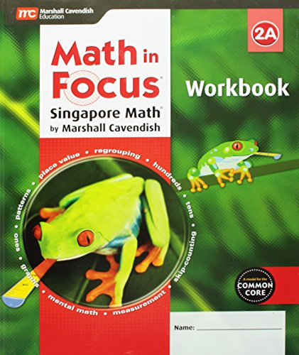 9780544193826: Math in Focus: Singapore Math: Student Workbook, Book A Grade 2