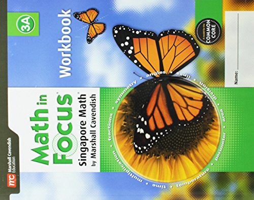 9780544193840: Math in Focus: Singapore Math: Student Workbook, Book A Grade 3