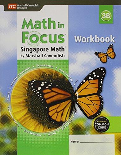 9780544193857: Math in Focus: Singapore Math: Student Workbook, Book B Grade 3