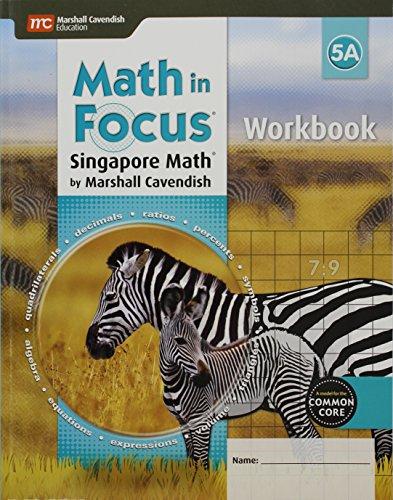 9780544193888: Math in Focus 5A: Singapore Math