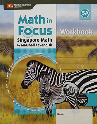 9780544193888: Math in Focus: Singapore Math: Student Workbook, Book A Grade 5