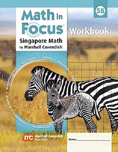 9780544193895: Math in Focus: Singapore Math: Student Workbook, Book B Grade 5