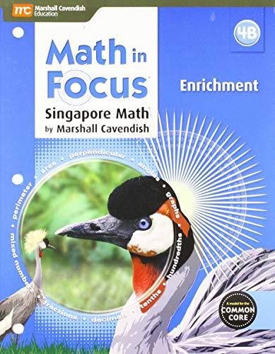 9780544193970: Math in Focus: Singapore Math: Enrichment Blackline Master B Grade 4