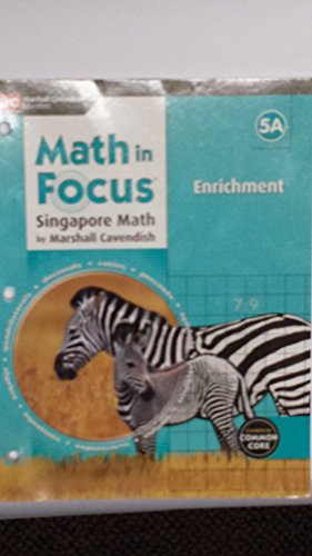 9780544193987: Math in Focus: Singapore Math: Enrichment Blackline Master A Grade 5