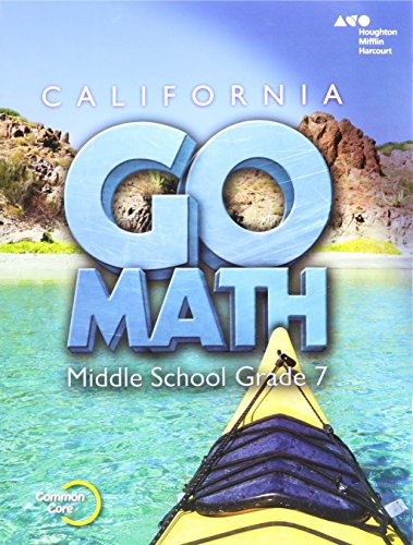9780544202610: Holt McDougal Go Math! California: Student Interactive Worktext Grade 7 2015