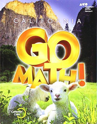 9780544203792: Go Math! California 2015, Grade K