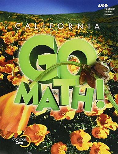 9780544204089: Houghton Mifflin Harcourt Go Math! California: Student Edition Grade 5 2015