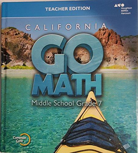 9780544207028: Holt McDougal Go Math! California: Teacher Edition Grade 7 2015