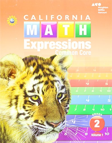 9780544210783: Houghton Mifflin Harcourt Math Expressions: Student Activity Book (softcover), Volume 1 Grade 2 2015