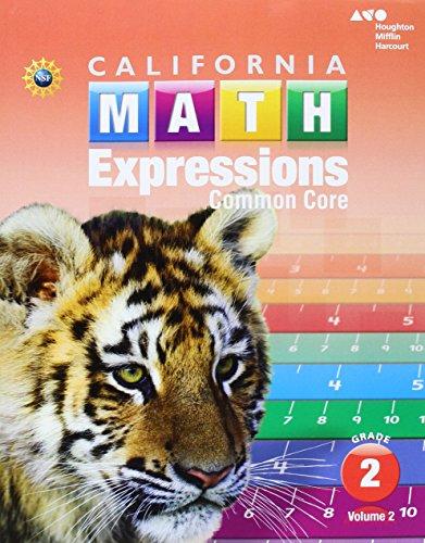 Houghton Mifflin Harcourt Math Expressions California: Student: HARCOURT, HOUGHTON MIFFLIN